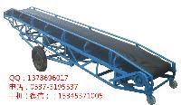 爬坡皮带输送机 移动式电动升降输送机