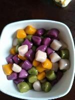 速冻芋圆、紫薯圆、地瓜圆、抹茶圆
