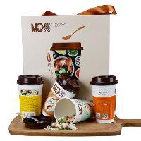 兴利蘑秀香菇汤礼盒装多口味组合12杯速食汤即食蔬菜汤方便汤