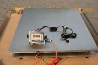 不锈钢材质 食品厂专用 称2吨的电子地磅