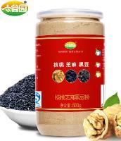 六谷园核桃芝麻黑豆粉价格多少钱一盒