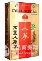 韩国鹤标高丽人参茶