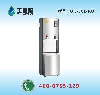 办公室高档节能RO反渗透纯水饮水机丨全自动不锈钢电热直饮机