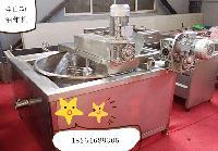 蟹黄翻转式自动油炸线 水油分离