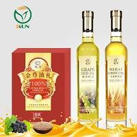鲲华 葡萄籽油+小麦胚芽油 500ml*2瓶 礼盒装