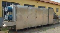 鹌鹑蛋包装袋网带式烘干箱