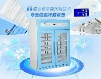 存放检验试剂的冰柜