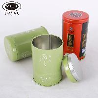 专业绿茶红茶小圆铁罐生产厂家