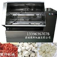 大型全自动双绞龙香肠肉馅搅拌机器
