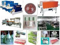 糖果铁盒/巧克力礼盒全自动透明膜包装机4020半自动挂面塑包机