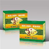 绿豆粉瓦楞纸包装盒包装箱 免费设计 专业印刷