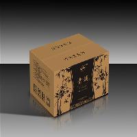 五层瓦楞纸包装箱 单色印刷 免费设计logo