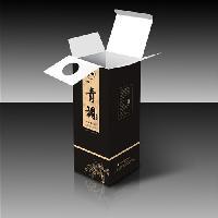 养生酒包装盒定做 免费设计logo 白卡纸彩印