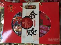 广州酒家利口福秋之风合家欢腊味腊肠礼盒