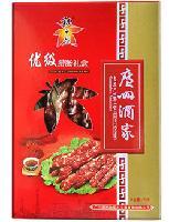 秋之风优级腊肠礼盒474g,广州酒家利口福