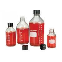 250mL 无色透明带刻度培养基瓶