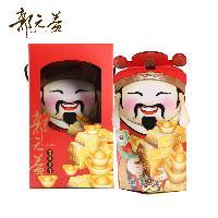 郭元益吉旺財神-旺財礼盒(糕点糖果)