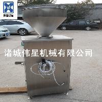全自动灌肠机 肉制品灌肠机 不锈钢商用灌肠机 诸城伟星专业定做