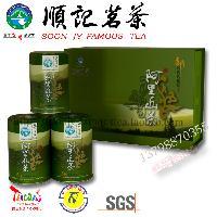 台湾顺记茗茶 阿里山茶 台湾原装进口 高山乌龙茶 100gx3入