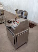 自动卸料斩拌机肉泥机
