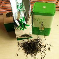 湖南益阳土特产农家自制烟熏绿茶2016明前春茶100克