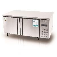 格林二门平台冷柜BD/BC-150 不锈钢操作台冰箱