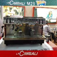 金佰利M23 双头电控半自动咖啡机 进口商用