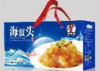 蓝色特价海蜇礼盒