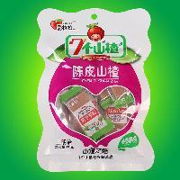 新品蜜饯果脯 陈皮山楂三明治袋包装80克 厂家直销特价批发包邮