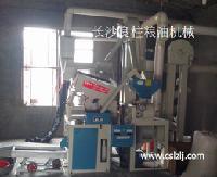 良柱粮机15系列新型组合米机 新款农村大米加工设备