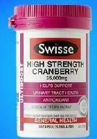 Swisse高浓度蔓越莓胶囊
