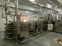 果粒果奶管式杀菌机