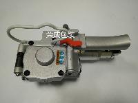 气动塑钢带打包机/免扣气动手提打包机好质量