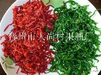 纯糖红绿丝价格