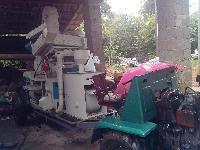 流动车载拖拉机碾米设备出米率高去石效果好