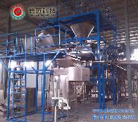 固体水溶肥自动配料包装生产线
