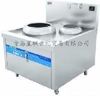 Qinxin沁鑫电磁单头连尾小炒炉 QX-X400~X500