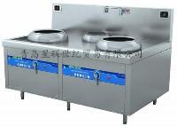 Qinxin沁鑫电磁双头单尾小炒炉 QX-X400II~X500II