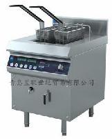 Qinxin沁鑫电磁单缸双筛炸炉 QX-ZLI