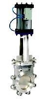 PZ673X/H电控气动刀闸阀、刀型耐磨闸板阀