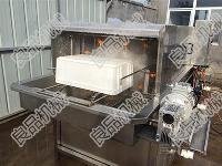 供应海鲜筐清洗机 塑料托盘清洗机