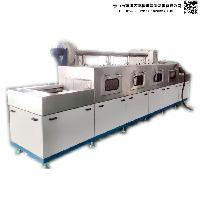 清洗机厂家定做JH-TGS-L14M步进式铝桶定点喷淋清洗设备