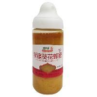 新疆葵花蜂蜜500ml *纯蜂蜜 厂家直供