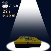 正方形月饼铁盒 缩颈马口铁月饼盒 城市名人