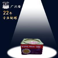 荣华蛋卷铁罐包装 马口铁圆盖正方铁盒 定制