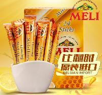 Meli蜂蜜 欧洲纯蜂蜜棒 比利时进口办公室场所优选蜂蜜 192克/盒