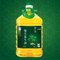 山歌原生特级花生油4.5L 天然纯正精品花生油 无添加无残留