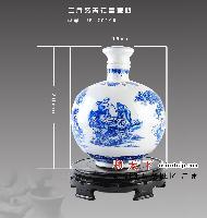 供应手绘陶瓷酒具酒瓶