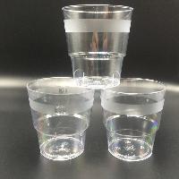 厂家生产 航空杯 塑料PS 硬 航空品质