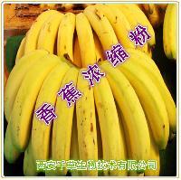香蕉浓缩粉优质原料西安千草厂家生产 纯天然水溶